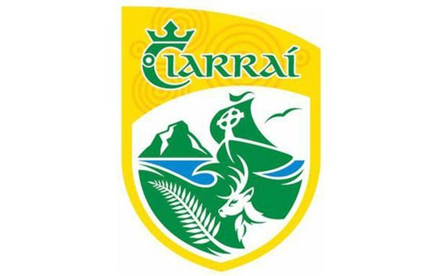 County Kerry\'s GAA crest.