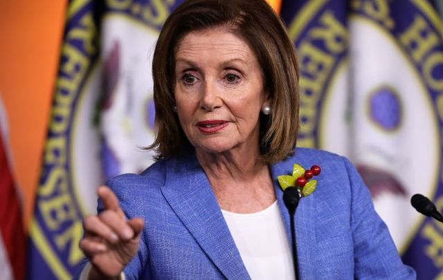 "Nancy Pelosi says Brexit ""cannot imperil\"" the Good Friday Agreement."