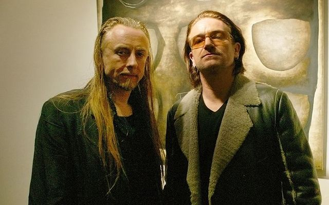 Guggi and Bono, childhood friends.