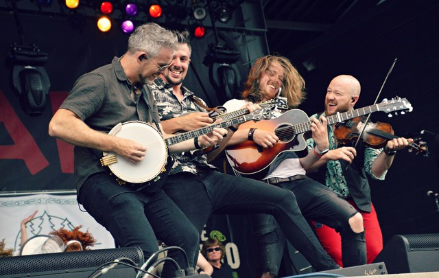 We Banjo 3 at Milwaukee Irish Fest.