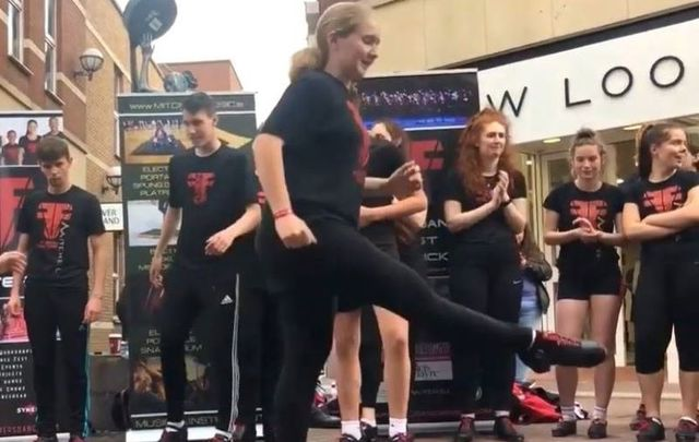 Fusion Fighters gave the people of Limerick a glimpse of their immense Irish dance talent