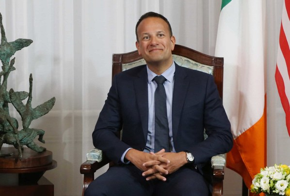 Irish leader Leo Varadkar.