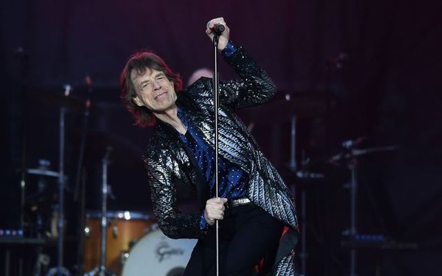 Mick Jagger during the No Filter tour\'s stop at Croke Park in Dublin.
