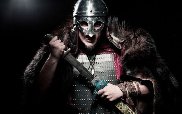 Before the Vikings arrived Ireland\'s population was in decline.