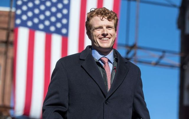 Massachusetts Congressman Joe Kennedy says he is considering a Senate run