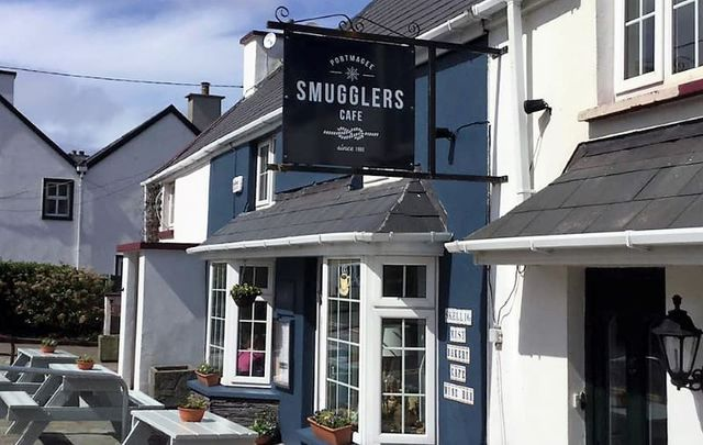 Smugglers Cafe was able to reunite one lucky tourist with his wallet after he lost it.