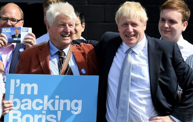 Stanley Johnson, Boris Johnson\'s father, has apologized for comments he made about the Irish last year.