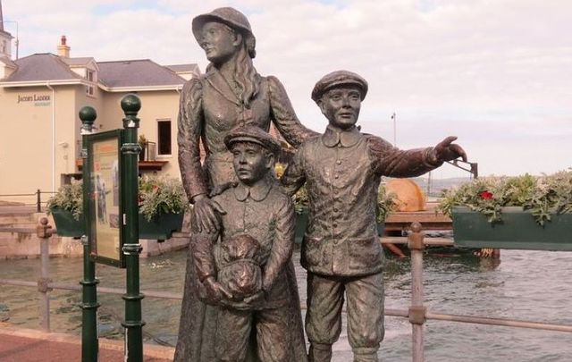 Irish immigrant Annie Moore would have been considered a public charge.