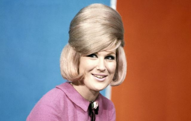 Dusty Springfield, pictured here circa 1966, was born to Irish parents in London.