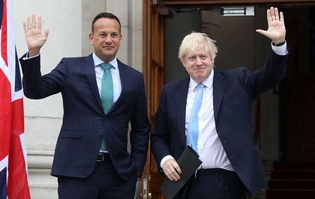 An Taoiseach (Prime Minister) Leo Varadkar told the British Prime Minister Boris Johnson.
