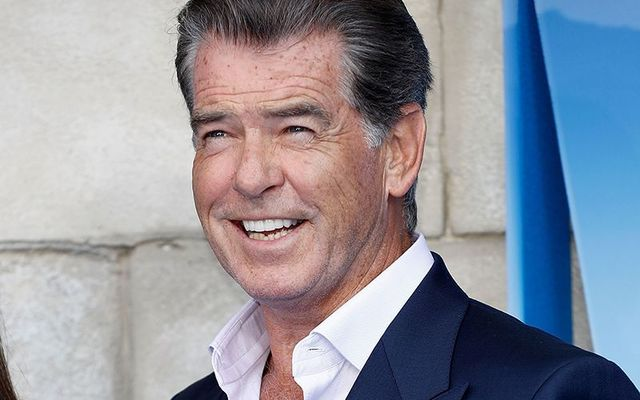 Pierce Brosnan former 007, James Bond.