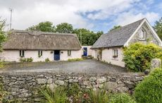 This thatched cottage for sale in Co Galway is two hundred years old