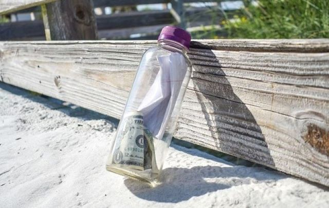 "Brian Mullins\'s ashes a part of a message in a bottle his family launched to give the late man ""one last adventure.\"""