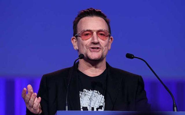U2 frontman Bono, aka Paul Hewson.