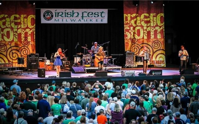 A shot from the Milwaukee Irish Fest