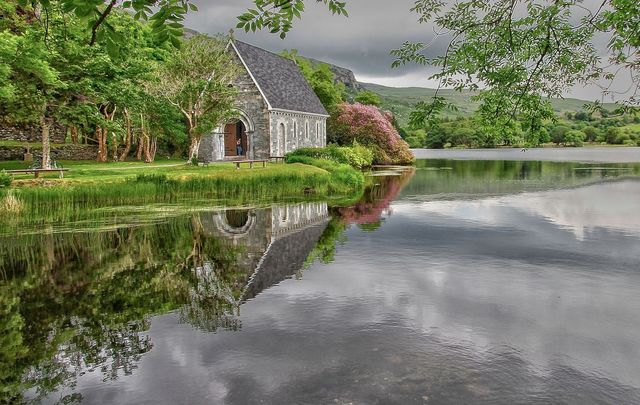 St. Finbarr\'s Church, at Gougane Barra, Macroom, County Cork.