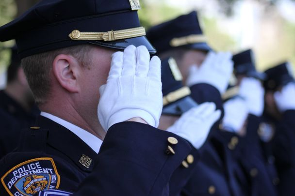 The first NYPD to die in the line of duty was patrolman Thomas Lynch, an Irish immigrant.