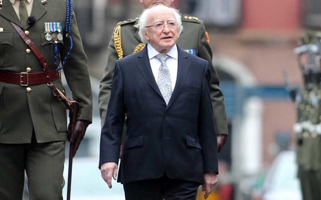 Ireland\'s current President, Michael D Higgins.