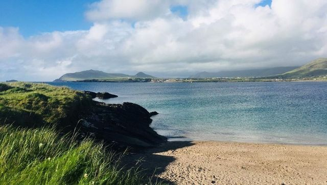 The Dingle Peninsula's stunning beaches are ideal for surfing, strolling and swimming.