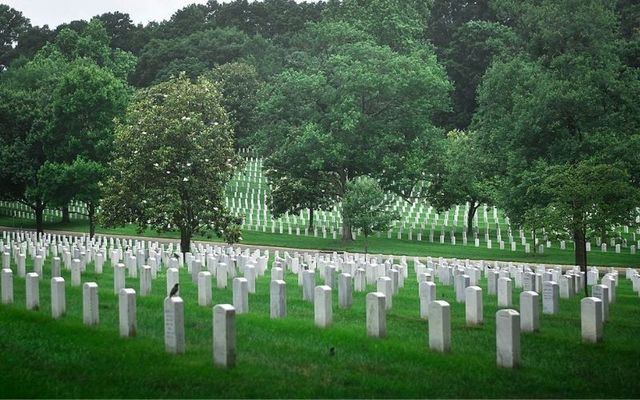 Thousands of soldiers with Irish heritage are among the dead at Arlington National Cemetery, Virginia.