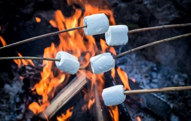 Calling all adults! Let the kids have their s'mores while you indulge in a little golden piece of heaven.