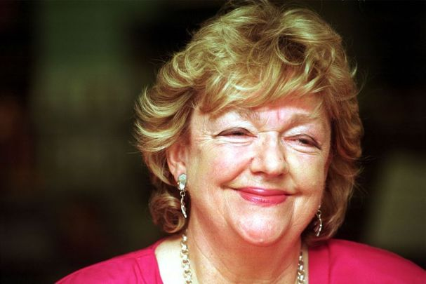 Maeve Binchy, pictured here in 1998.