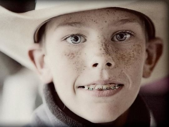 14-year-old Irish American cowboy Tommy Patrick.