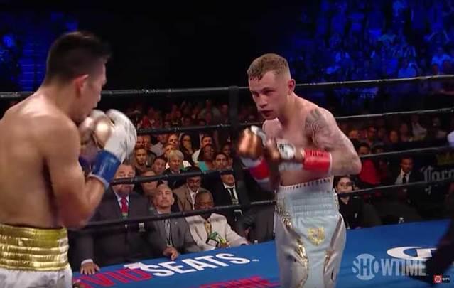 Carl Frampton defeated Leo Santa Cruz at Barclays Center in Brooklyn on Saturday night.