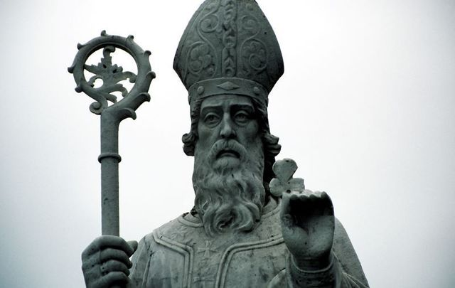 Down through the centuries St. Patrick\'s hymn has come to us.