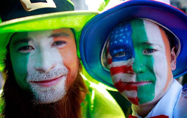 U.S. Embassy claims Ireland took the St. Patrick's Day tradition from their trans-Atlantic cousins in America. In fact, Americans invented the celebrations.