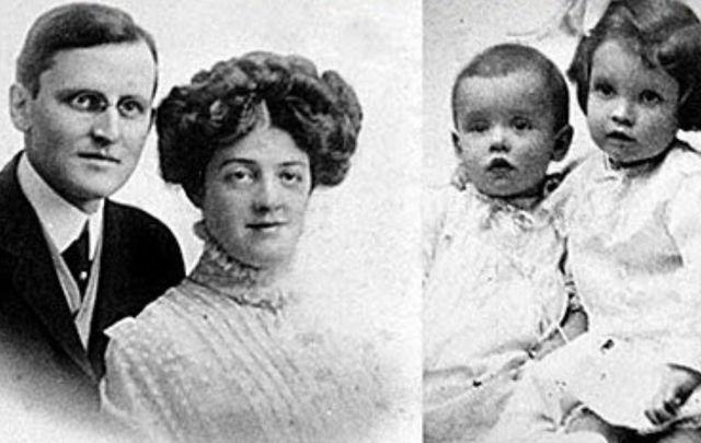 L-R Hudson, Bess, Trevor, and Loraine Allison.