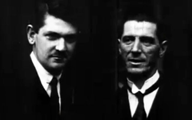 """Rare video of Michael Collins, from Britain\'s Pathe newsreel, taken on the day he """"signed his own death warrant"""" at a time when the Anglo-Irish treaty of 1921 was at the most critical moment."""