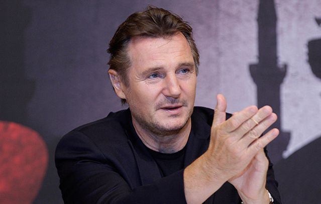 Give yourself a round of applause, Liam Neeson! You've starred in some pretty great movies.