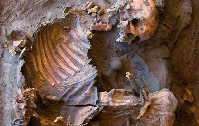 Bones Of 5 000 Year Old Stone Age Child And Adult Found In