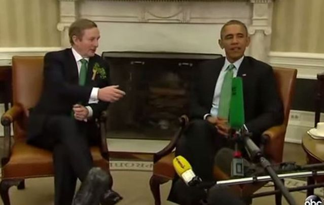 We've all been there (well, kind of). Watch this cringe-y moment from St. Patrick's Day at the White House, now ranked among Obama's most awkward handshakes while in office.