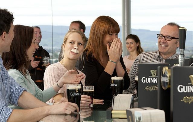 Guinness Storehouse tops the list again: Failte Ireland releases visitor figures for Emerald Isle's free and fee-paying spots.