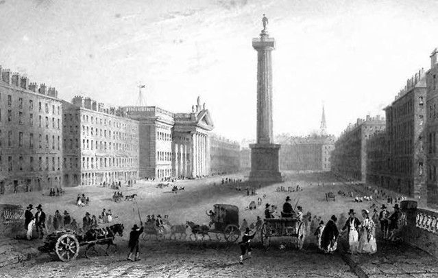 Nelson\'s Pillar, Dublin: The victor of the Battle of Trafalgar and the subject of Nelson's Pillar which was blown up by the IRA.