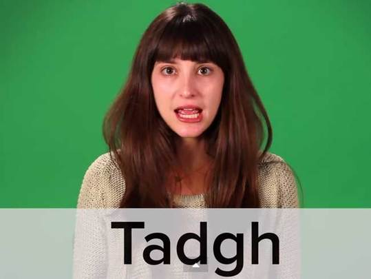 These Americans try to pronounce traditional Irish names to hilarious results.