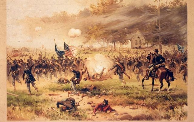 The Battle of Antietam saw more than 22,000 soldiers die in 1862.