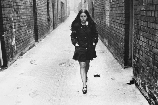 Bernadette Devlin in Belfast, 1969.