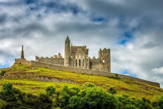 The Rock of Cashel is one of many sites along Ireland\'s Ancient East.
