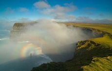 Magical natural event captured at Cliffs of Moher