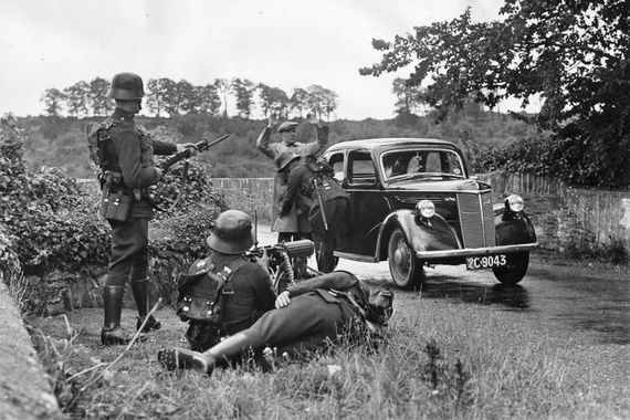 Ireland during the Second World War.