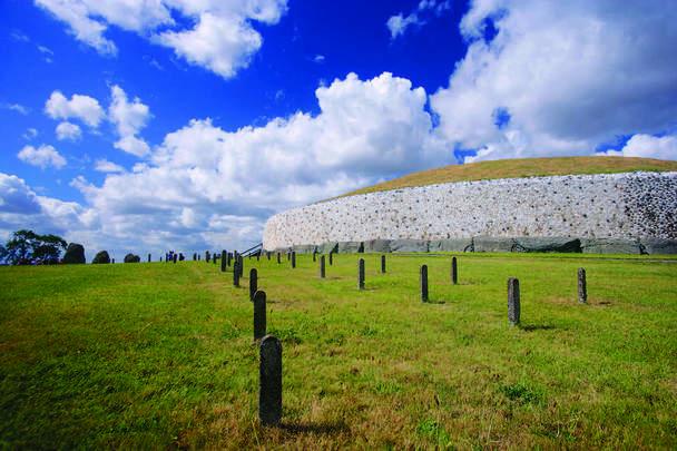 The passage tomb at Newgrange, County Meath.