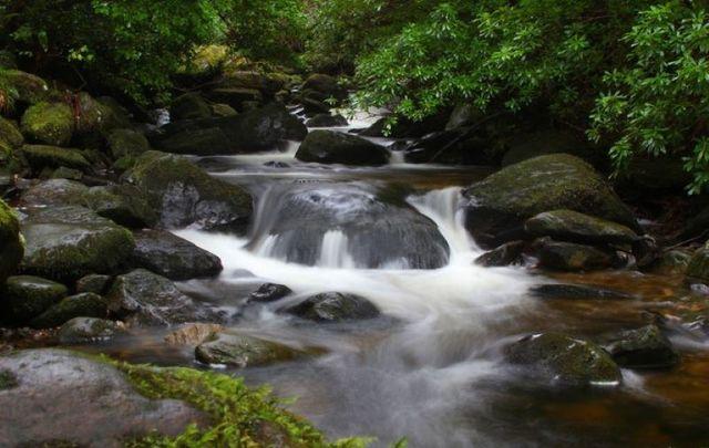 Torc Waterfall in Killarney, Co Kerry.
