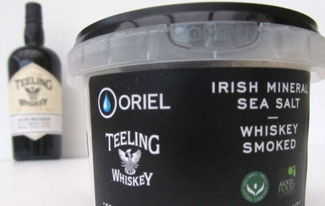 Irish brands Oriel Mineral Salt and Teeling Whiskey join forces to create a treat for the senses.