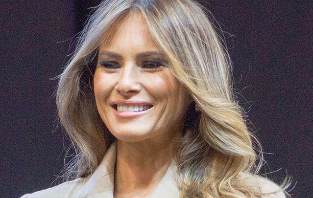 Donald Trump's Slovenian wife, Melania.