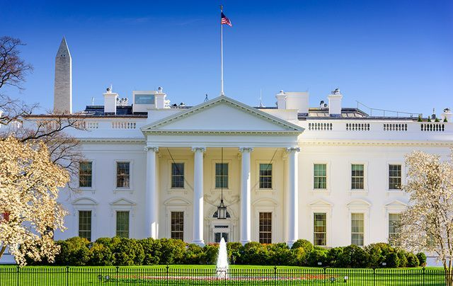 The White House was burned down by the British Army in 1814.