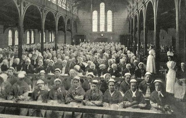 Dublin workhouse.