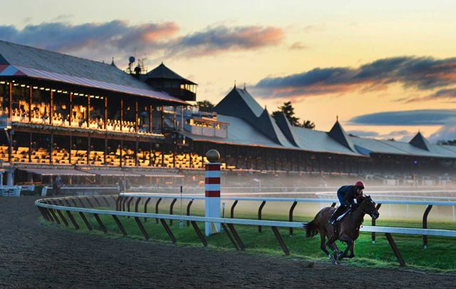 Saratoga Race Course.